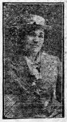 Margaret Williams, a stewardess on S S Connemara, drowned in a collision at sea.